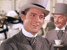 Jeremy Brett in My Fair Lady as Freddy Eynsford-Hill omfggg