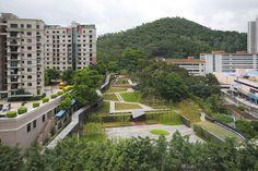 jade bamboo culture plaza by urbanus. CHINA.