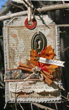 Creatively Savvy: Fall Tag #1