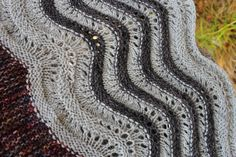 Hap(py) Shawl Pattern $8 CDN – Fleece & Harmony PEI updated in 2018 because I loved what @sandandskycreations did with the pattern when she knit it. Shawl Patterns, Lace Patterns, Stitch Patterns, Aran Weight Yarn, Crochet Shawls And Wraps, Baby Swaddle, Warm Outfits, Garter Stitch, Blanket