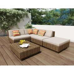 Found it at Joss & Main - 5-Piece Park Patio Seating Group