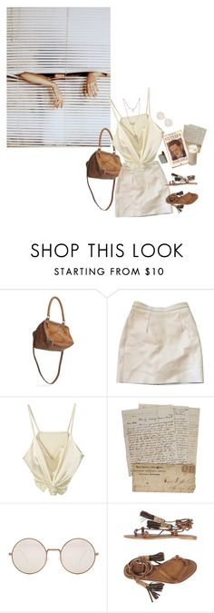 """""""Everything that happens will happen today."""" by ballrooms-of-mars ❤ liked on Polyvore featuring Givenchy, American Apparel, Illesteva, Soho de Luxe and Free People"""