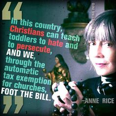 IT'S SO TRUE!  paying and paying and paying for brainwashing. Nice statement Anne...but so went back to Christianity!!