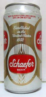 LATAS Y BOTELLAS COLECCIÓN: LATA SCHAEFER  USA 1988