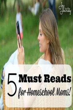 With each new homeschool year, we face a different challenge. Here are five must reads for homeschool moms that can help us keep learning and stay strong!