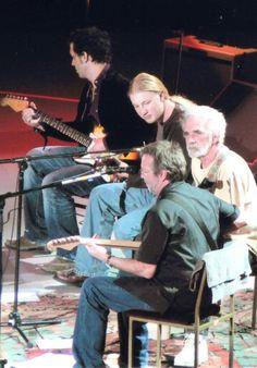 Doyle Bramhall II, Derek Trucks, JJ Cale and Eric Clapton.