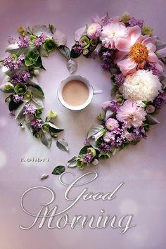 Good Morning Coffee Gif, Good Morning Beautiful Flowers, Good Morning Tuesday, Good Morning Images Flowers, Good Morning Roses, Good Night Love Images, Good Morning Nature, Cute Good Morning, Good Morning Photos
