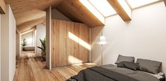 Visualisierung Schlafzimmer Divider, Modern, Room, Furniture, Home Decor, Architecture Visualization, Condominium, New Construction, Environment