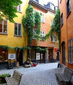 Gamla Stan, love to just walk around there during summer or do some Christmas shopping