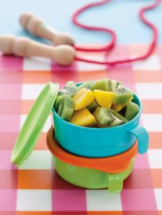 Great for snacks and feeding the little ones.