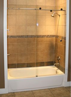 Skyline Shower Enclosure - Home and Garden Design Ideas