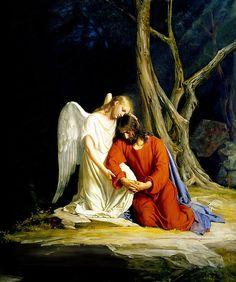 Gethsemane Print By Carl Bloch