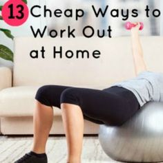 13+ Budget-Friendly Ways to Work Out at Home | via @SparkPeople #fitness #exercise #assistantangel #workfromhome #sahm #virtualassistant