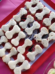 Puppy Bone PB&J Paw Patrol birthday party