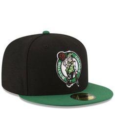 online store fa31d 9e823 New Era Boston Celtics Basic 2 Tone 59FIFTY Fitted Cap - Black 7
