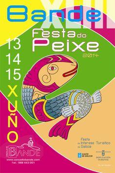 #Fiesta do Peixe, #Bande, una de las fiestas más antigua de #Galicia.
