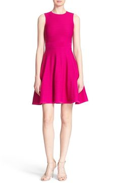 Ted Baker London Ottoman Knit Fit & Flare Dress available at #Nordstrom