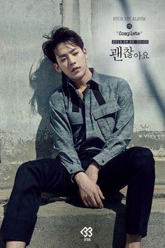 BTOB Minhyuk ~ in the past, present and future, I love you forever (예지앞사) Btob Changsub, Btob Lee Minhyuk, Yook Sungjae, Korean K Pop, Korean Wave, Mon Cheri, Im Hyun Sik, Rap, Nu'est Jr