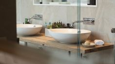Brad & Dale Bathroom. Love this vanity.