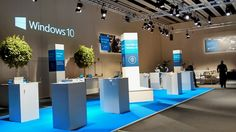 Microsoft Event Construction MWC 2015
