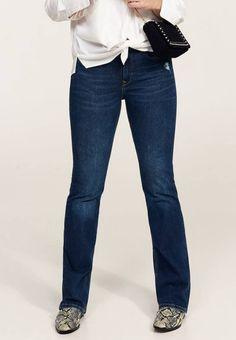 66c4c80c5c MARTHA - Bootcut jeans - dark blue   Zalando.be 🛒. Violeta by Mango.