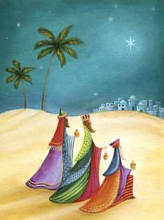 Leading Illustration & Publishing Agency based in London, New York & Marbella. Christmas Card Images, Christmas Cards To Make, Vintage Christmas Cards, Christmas Pictures, Christmas Art, Christmas 2016, Christmas Ideas, Nativity Painting, Christian Images