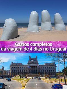 Reunimos nesse artigo todos os gastos da nossa viagem de 4 dias para o Uruguai. Veja os preços de transporte, hospedagem, comidas e passeios em Montevideo e Punta del Este.