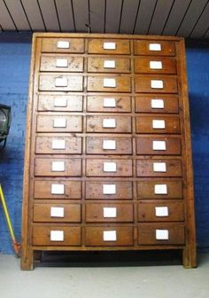 Large VINTAGE industrial MULTI drawer filing CABINET/sideboard/cupboard/CHEST