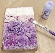 Photo tutorial by Mona for the Simon Says Stamp Monday challenge Blog on her gorgeous canvas.  October 2014