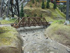 Medina Railroad Museum HO Scale Model Train Layout