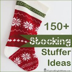 150+ Stocking Filler Ideas For Kids And Teens - fun ideas for those little odds and ends for stockings!