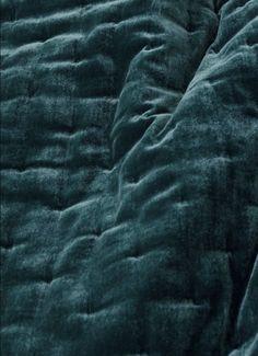 Velvet bedspread - Petrol - Home All Teal Bedding Sets, Teal Comforter, Velvet Bedspread, Teal Bedspread, Velvet Bedroom, Purple Bedding, Bedroom Rugs, Chenille Bedspread, Comforter Sets