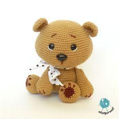 Aleksandra Goryniak-Maziarka alegorma!  www.polandhandmade.pl zabawkarstwo    #polandhandmade #amigurumi #teddybear