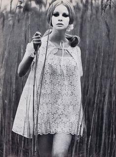 70s lace dress