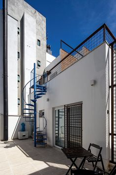 americaarquitetura   Casa América   Fachada dos Fundos, acesso a cobertura verde  Projeto: América Arquitetura   Foto: César Vieira