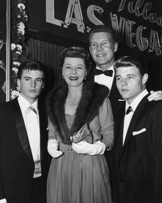 The Nelson Family Celebrities Then And Now, Young Celebrities, Celebs, David Nelson, Ricky Nelson, Vintage Hollywood, Classic Hollywood, Frankie Avalon, Scott Baio