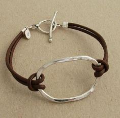 1000+ ideas about Leather Jewelry on Pinterest | Leather Bracelets ...