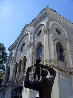 Burgas, Bulgaria - Art Gallery | The art gallery, behind the hotel I stayed in, is open to the public. It's housed in a former synagogue.