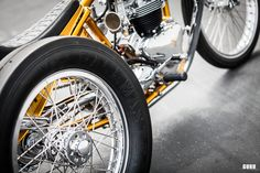 The Conquistador , 1967 Triumph Pre Unit Trike by Ryan Mullion (fro. Trike Chopper, Trike Motorcycle, Custom Trikes, Cool Gadgets To Buy, Kustom Kulture, Cool Bikes, Bobber, Cars And Motorcycles, Harley Davidson