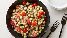 This super simple salad is a hit at BBQs and makes a nice addition to any lunch or dinner.
