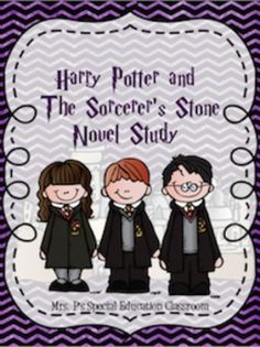 Harry Potter & The Sorcerer's Stone Novel Study  -55 Vocabulary Words -Comprehension Questions for each Chapter -Character Traits Graphic Organizers      -Professor Dumbledore      -Pre-Hogwarts Harry      -Hagrid      -Ron      -Draco Malfoy      -Professor McGonagall      -Professor Quirrell      -Professor Snape      -Filch      -Mrs.