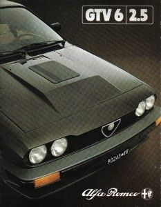 GTV 6 2.5 Alfa Romeo Gtv6, Alfa Gtv, Alpha Dog, Cars And Motorcycles, Bella, Ps, Classic Cars, Vehicles, Poster