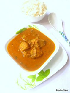 Indian Khana is a food website with Easy Indian, Non-Vegetarian, Eggless Cake, Paneer, Baking Recipes with step by step recipe pictures Coconut Recipes Indian, Coconut Milk Recipes, Coconut Milk Curry, Masala Khichdi, Veg Pulao, Garam Masala, Easy Fish Curry Recipe, Easy Fish Recipes, Curry Recipes