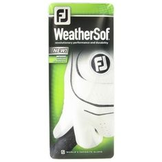 FootJoy WeatherSof Golf Glove Gloves purchase from Globalgolf.com on discounted prices by using coupon and promo codes.