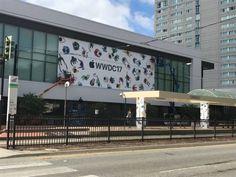 Il McEnery Convention Center si veste per la WWDC 2017