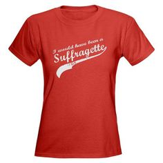Suffrage. Sounds like a bad thing, but was really a good thing :)