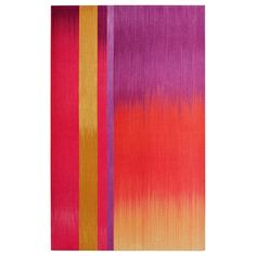 A beautiful pop of color by London artist, Ptolemy Mann. Ptolemy is an established textile artist and designer specializing in large scale, ...