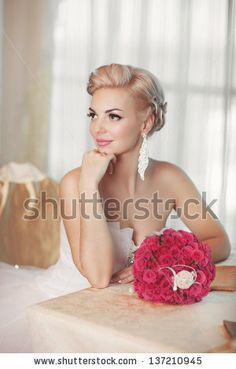 1000 images about wedding bride pose on pinterest for Wedding dress display at home