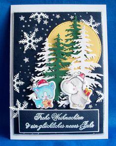 http://quilling-krapp.de/ Quilling und Karten by Raissa Krapp  тиснение, вырубка,  трафарет Stanzschablone,   новый год, кот, бегемот, рождество, Weinachten,  Gipopotam, квиллинг, Katze, Schneeflocke, снежинка, Tannenbaum, pregeschablone,  открытка,