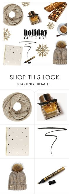 """Holiday Gift"" by majadi on Polyvore featuring John Lewis, Burberry, Sugar Paper, Eyeko and Nine West"